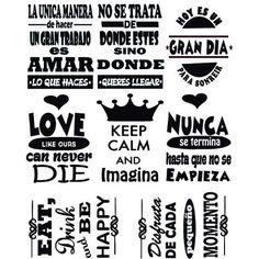 Etiquetas En Vinilo Para Personalizar Frascos Y Botellas. Paz Hippie, Printable Planner, Printables, Silhouette Cameo, Hand Lettering, Me Quotes, Shirt Designs, Bullet Journal, Stickers