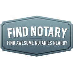 FindNotary recently launched their niche directory site to find a notary public, mobile notary, or notary services.