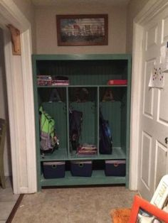 Locker bookshelf | Do It Yourself Home Projects from Ana White