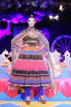 Manish Arora at PCJ Delhi Couture Week 2013
