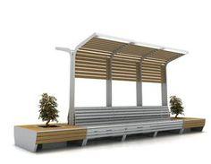 foto City Furniture, Urban Furniture, Street Furniture, Garden Furniture, Outdoor Furniture Sets, Furniture Design, Outdoor Decor, Landscape Architecture Design, Architecture Details