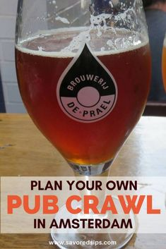 Plan Your Own Amsterdam pub crawl with our guide