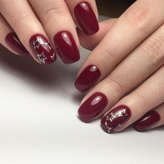awesome 55 Amazing Designs for Burgundy Nails - Captivating and Trendy