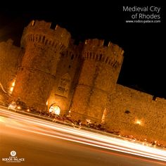 Visit the magnificent Medieval City of Rhodes, an UNESCO protected monument, that will make you travel through time! #RodosPalaceHotel #Rhodes #Greece #UNESCO