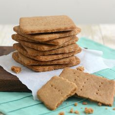 Homemade Brown Sugar Graham Crackers by Tracey's Culinary Adventures, via Flickr
