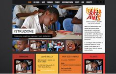 PORTFOLIO: realizzazione sito Associazione AMIS www.amisbiella.org