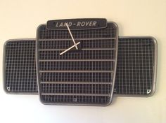 Upcycled 1970's LandRover series III Grille Wall by Upcycledlamp