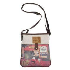 D38-2.Disney Mickey Mouse Women Cartoon Canvas Cross Body Shoulder Bag #Disney #MessengerCrossBody