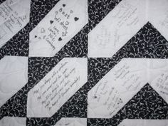 visit the site and there is another great quilt to see | Quilting ... : wedding signature quilt - Adamdwight.com