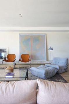 Amber interior design via Post-patternism.