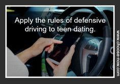 Inspiring Purity: Teaching your teens the defensive driving of dating - Choose NOW Ministries