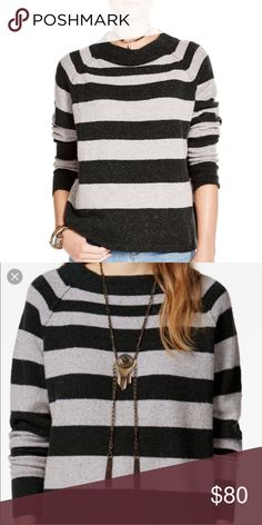 🆕Free People NWT $118 RARE Gray Bubble Sweater!XS FREE PEOPLE  100% AUTHENTIC. NWT.   A Free People sweater rendered in soft cozy knit. A mock turtleneck collar and reversed raised seams at the shoulders add touches of interest. Ribbed edges. Long sleeves. Nice soft weave, looks like boiled wool! Thinner medium weight for Easy wear. Great Sweater that sold out. Rare size XS. My only one.   Fabric: 36% Acrylic, 30% Wool, 20% Nylon, 11% Linen & 3% Spandex. Gorgeous & soft.    NEW WITH TAG…