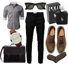 """Boyfriend's professional outfit"" by argibb on Polyvore"