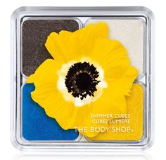 The Body Shop Shimmer Cubes - Yellow Poppy