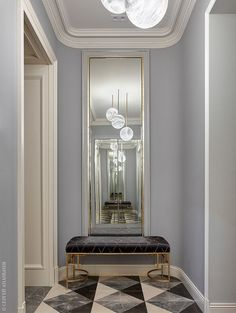 12 Amazing Classic Interior Decoration Ideas For Increase Your Home Apartment Entrance, House Entrance, Entrance Foyer, Home Interior Design, Interior Decorating, Classical Interior Design, Interior Shop, Interior Sketch, Decorating Ideas