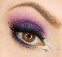 Something Special - love purple eyeshadow! ♥