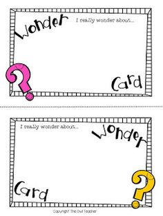 What do you wonder?  Sometimes I just really wonder what is on my students' mind. And really they are always wondering things too right? I mean aren't kiddos the most curious? So let's catch those thoughts with this wondering sheet!  You can grab this sheet free by clicking here to download it! Enjoy exploring your students' curiosity!  all grades and subjects Exit Cards exit tickets metacognition Reading Strategies The Owl Teacher