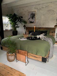 inexpensive home decor Tuscan Bedroom, Home Decor Bedroom, Living Room Decor, Bedroom Bed, New Room, House Rooms, Home Decor Inspiration, Decor Ideas, Home Renovation