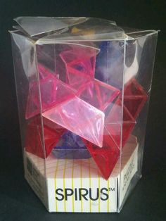 SPIRUS (STC) GEO-LOGIC PUZZLE S T COFFIN DESIGN BRAIN TEASER 1982  #SamuelWardCompany
