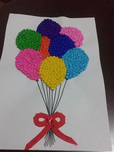 Atividade para trabalhar a coordenação motora fina e cores     Aula de Arte!