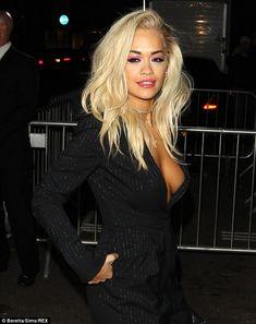 Rita Ora showed some major sideboob at Stella McCartney's #LFW bash http://dailym.ai/1m8pHMY