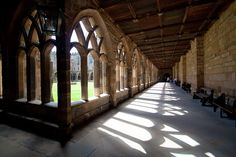 Durham Cathedral.. The corridors of Harry Potter