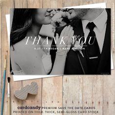 Hochzeit Dankeskarten Dankeskarte Hochzeit von cardcandydotcom
