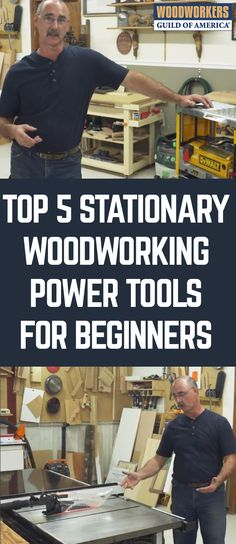 Whether they're just getting started, or have been involved with woodworking for a while, many woodworkers wonder what woodworking power tools they should add to their shop. The answer to this question can be subjective, and depend on what types of woodworking projects you commonly build, but George Vondriska is ready to provide you with his opinion on which five woodworking power tools should be considered top tier tools for your shop.