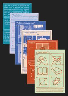 Corinne Gisel — 'Design of Escola Aberta', 'Design for Gerrit Rietveld Academie Liberary', Diplomarbeit