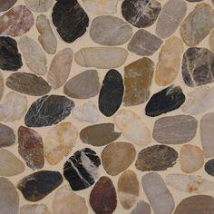 Mix River Pebbles Pattern 10mm