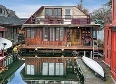 51 best seattle floating homes images floating house houseboats rh pinterest com