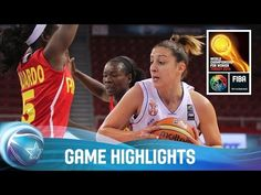 Serbia v Angola - Group D - 2014 FIBA World Championship for Women | TVideo.Net