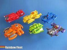 Rainbow Fleet.