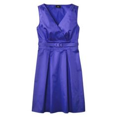 Mossimo® Womens Faux Wrap Belted Dress - Assorted Colors.Opens in a new window