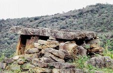 Nine of tombs with burial chambers found at Periyapatti Kadu on the upper part of Kudhiraiyaru dam near Palani was remnants of Megalithic period.  Led by Professor S. Vairavel of Arul Migu Palani Andavar College of Arts and Culture, a special team of professors and archaeological experts, have found nine such tombs sprawling over two kilometre surroundings on the hill, which was 1,500 metre above sea level
