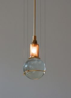 Opus Design Collective Inspiration:  Pendant Lamp by Günter Leuchtmann
