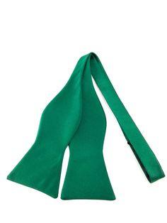 Solid Green Self Tied Bowtie Ties Online, Formal Tie, Green Colour Palette, Tuxedo Suit, Bowties, Simple Colors, Wedding Men, Groomsmen, Self