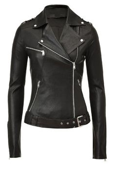 Lambskin Ladies Motorcycle Jacket