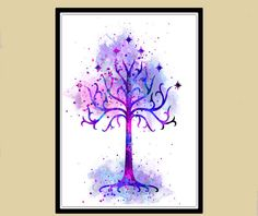 Lord of the Rings Tree of Gondor Lord of the rings by RosalisArt