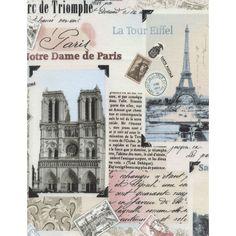 Tecido p/ patch Paris Landmark KG46 A partir de: