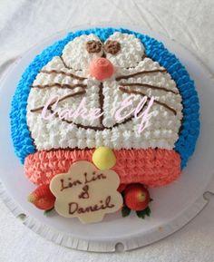 Doraemon (wedding?) cake