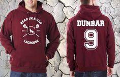 Liam Dunbar 9 Beacon Hills Lacrosse Teen Wolf Unisex Hoodie