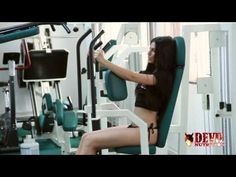 Working out with Bianca Goga