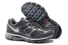 more photos 3b786 50d1d Womens Nike Air Max 2012 Dark Grey Summit White Cool Grey Metallic Silver  Shoes Dark Grey