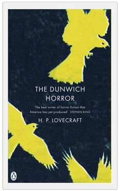 Gothic Horror. H. P. Lovecraft. Designed by Coralie Bickford-Smith