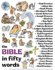 The bible 334603447306508365 - The New Testament items need to be reworked, but I like this. The Bible in Fifty Words – Author Unknown – Christian Stories Source by lanawsb Bible Lessons For Kids, Bible For Kids, Fathers In The Bible, Bible Stories For Kids, Bible Teachings, Bible Scriptures, Bible Notes, Bibel Journal, Christian Stories