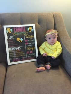 Baby's First Year Monthly Milestone Chalkboard Printables - Month Set Of 12 - Photo Prop Baby Boy Photos, Baby Pictures, Newborn Baby Photography, Newborn Photos, Chalkboard Baby, Chalkboard Ideas, Chalkboard Signs, 4 Month Old Baby, Monthly Pictures