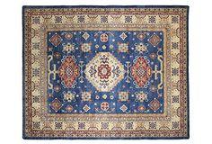 Bashian Pak Kazak Rug, Blue - One Kings Lane