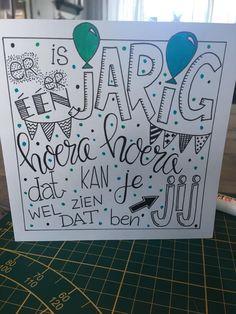 Handlettering Birthday Presents, Birthday Cards, Happy Birthday, Tangle Doodle, Doodle Art, Diy Cards, Artsy Fartsy, Birthdays, Doodles