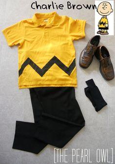Charlie Brown costume!